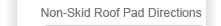 Non-Skid Roof Pad Directions