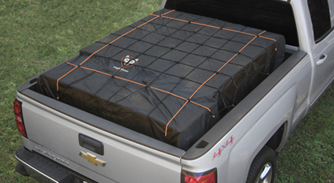 Truck Bed Cargo Net >> Truck Bed Cargo Net With Built In Tarp Truck Tarp With Bungees
