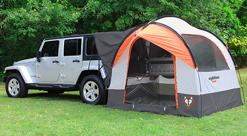 Car Clips & SUV Tent on Jeep Wrangler | Jeep Hard Top| SUV Tent