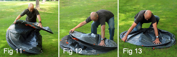 If any resistance is encountered go back to the previous step and make sure you have the tent positioned properly. & Pop Up Tents | Instant Pop Up Tent | EZ Tent