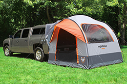 ... Jeep Wrangler hard top or pick-up truck with cap WITH or WITHOUT a roof rack. The tent works for vehicles with a rear hatch door or rear barn doors. : jeep wrangler tent attachment - memphite.com
