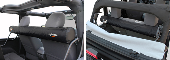 Attach The Window Storage Bag To The Headrests. The Soft Top ...